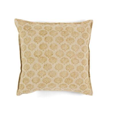 Cojin Algodon Holly - 45x45- textiles hogar - color crudo - flores - Liderlamp (1)