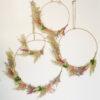 Corona de Flores Preservadas - Color- Decoracion - colgante pared - Liderlamp (1)