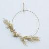 Corona de Flores Preservadas - Neutra - Decoracion - colgante pared - Liderlamp (4)