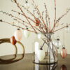 Huevo Colgante Cristal - Efecto Marmol - Madam Stoltz - adorno boho - Liderlamp (1)
