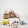 Set 3 Munecos Dinosaurio - Regalo bebe - deco infantil - peluches - Liderlamp (1)