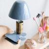 Aplique Didac - metal lacado pinza - cable interruptor y enchufe - industrial - luz infantil - Liderlamp (8)