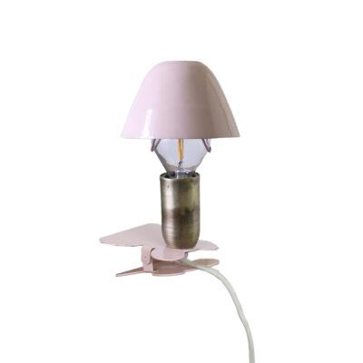 Aplique Didac - metal lacado pinza - cable interruptor y enchufe - industrial - luz infantil - Liderlamp (4)