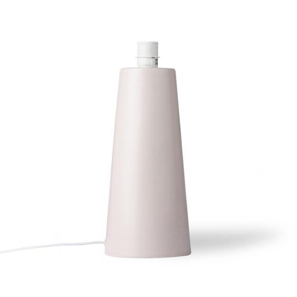 Base de Sobremesa Cone - beige - loza - decoracion - HKliving - Liderlamp (1)