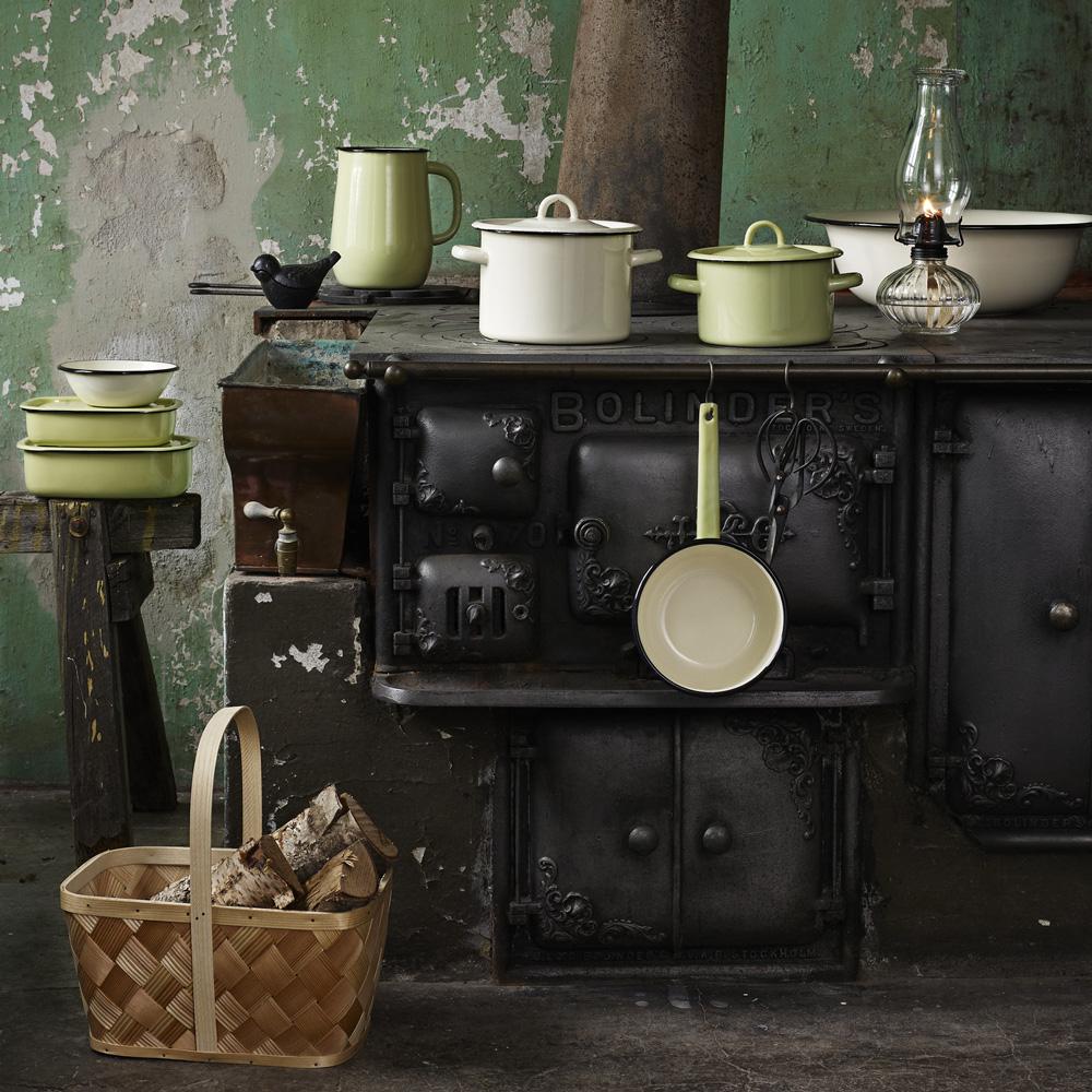 Cazo de Peltre - Verde Antiguo - decoracion cocina - estilo retro - Liderlamp (1)