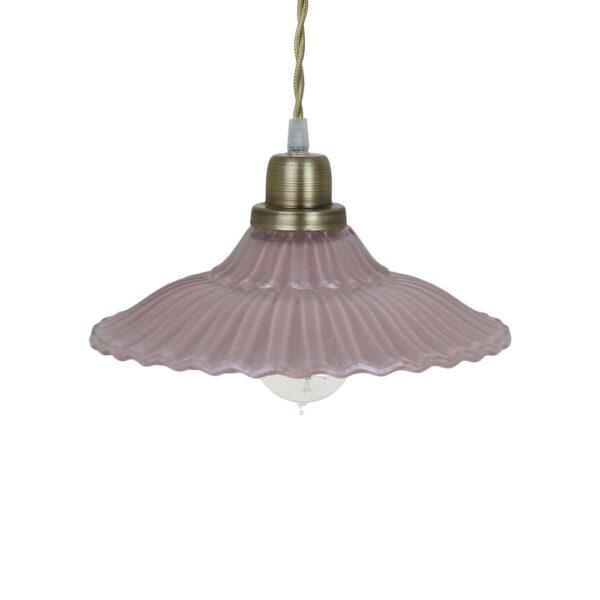 Colgante Camila - Rosa Antiguo - vintage - estilo retro - cristal - Liderlamp (3)