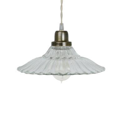 Colgante Camila - Transparente - vintage - estilo retro - cristal - Liderlamp (1)