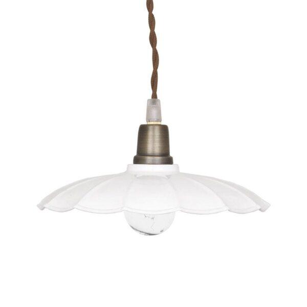 Colgante Celestina - Blanco - artesano - vintage - estilo retro nordico - Liderlamp (2)