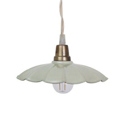 Colgante Celestina - Mint - artesano - vintage - estilo retro nordico - Liderlamp (1)