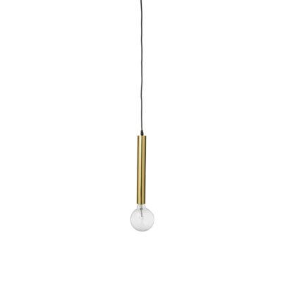 Colgante Helix - laton - estilo minimalista - lampara techo - bombilla vista - Liderlamp