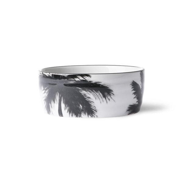 Ensaladera Porcelana Palmeras - palmeras - servir la mesa - menaje - Liderlamp (1)