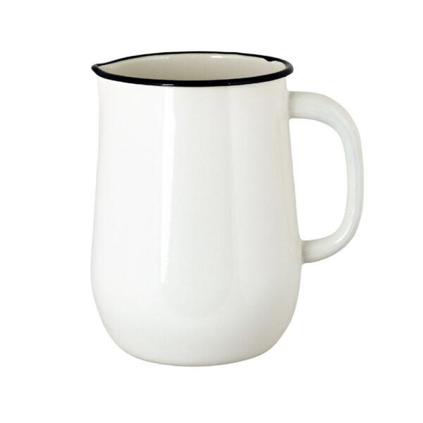 Jarra de Peltre - Blanca - decoración cocina - jarron - retro - Liderlamp (1)