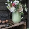 Jarra de Peltre - verde antiguo - decoracion cocina - jarron - retro - Liderlamp (2)