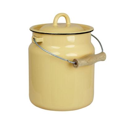 Lechera Bruna - Amarillo - decoracion cocina - almacenaje - retro - Liderlamp (1)