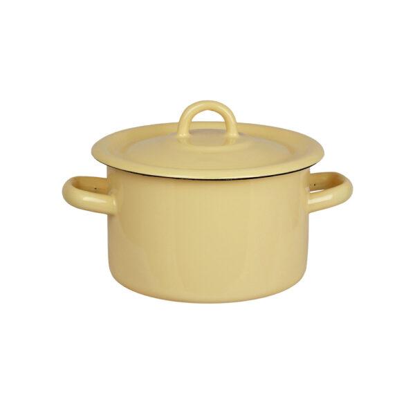Olla de Peltre Bruna - Amarilla - decoracion cocina - estilo retro - Liderlamp (1)