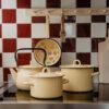 Olla de Peltre Bruna - Blanca - decoracion cocina - estilo retro - Liderlamp (2)