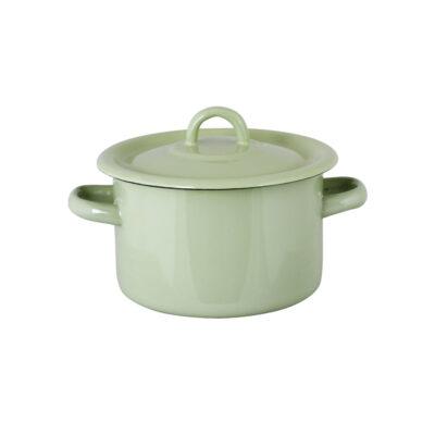 Olla de Peltre Bruna - Verde Antiguo - decoracion cocina - estilo retro - Liderlamp (1)