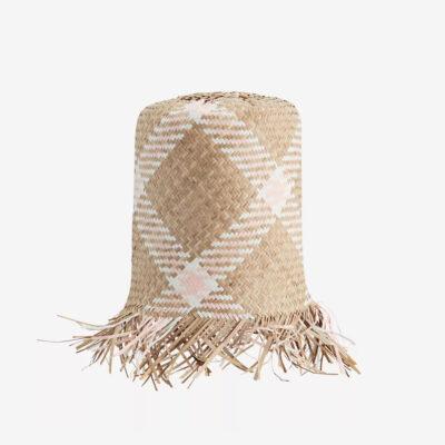 Pantalla Fiye - Seagrass - Madam Stolz - fibra trenzada - natural