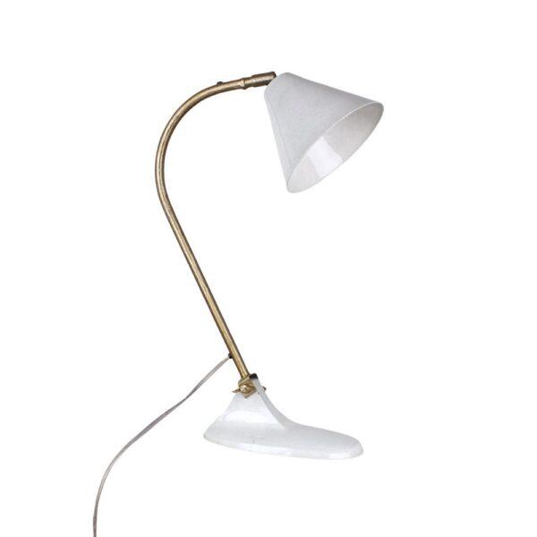 Sobremesa Alexo -Marmol laton- artesano - vintage - estilo retro nordico - Liderlamp (3)