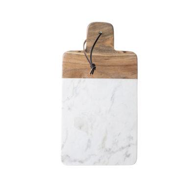 Tabla de Corte Avril - marmol y madera de mango - deco cocina - Liderlamp (1)