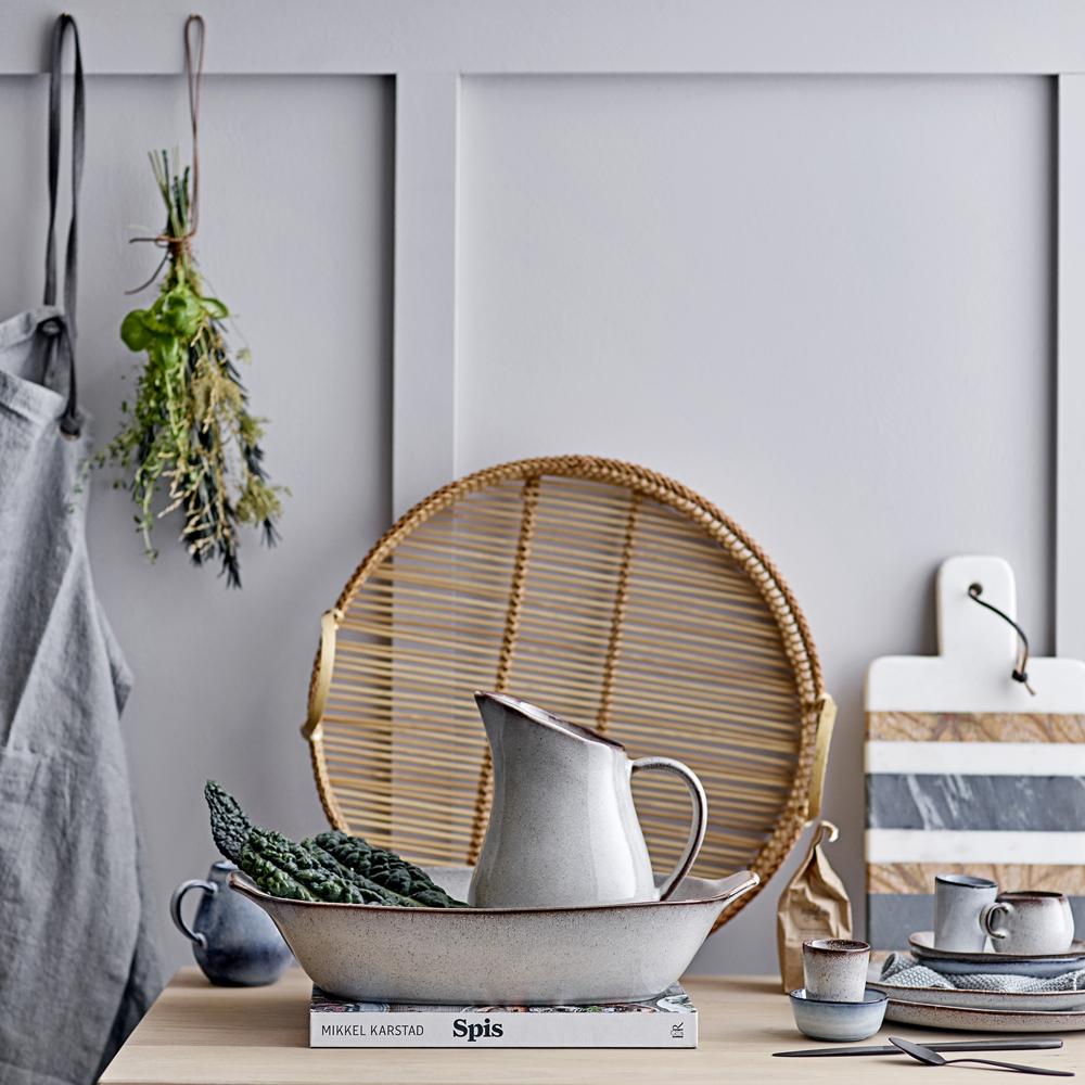 Tabla de Corte Loris - marmol y madera de mango - deco cocina - Liderlamp (1)