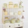 Vajilla de Peltre Bruna - Verde Antiguo - decoracion cocina - estilo retro - Liderlamp (3)