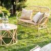 Banco de Ratan Jena - exterior - muebles jardin - porche - terraza - Liderlamp (7)
