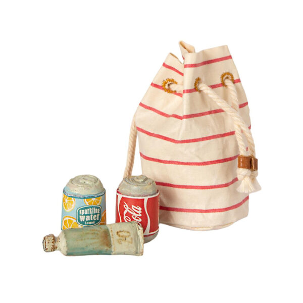 Bolsa de Playa Maileg - Maileg - ratones - casa de munecas - verano - Liderlamp