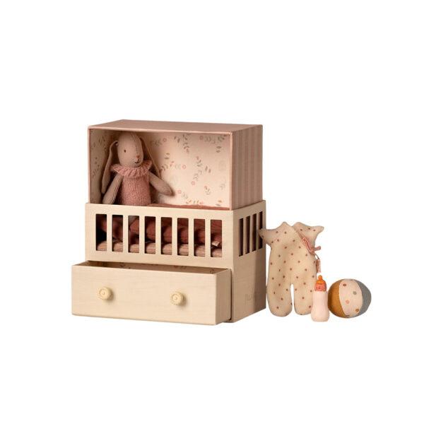 Conejito Bunny Micro + Habitacion Rosa - regalo ninos - juguetes - Liderlamp