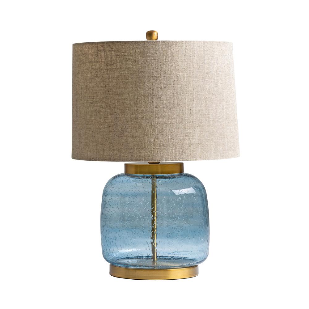 Sobremesa Marangoni - estilo clasico - pantalla de lino - lampara salon - Liderlamp (1)