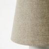 Sobremesa Orga - estilo clasico - lampara de mesa escultorica - color arena - Liderlamp (1)