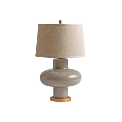 Sobremesa Sttaford - estilo clasico - pantalla de lino - lampara salon - Liderlamp (1)
