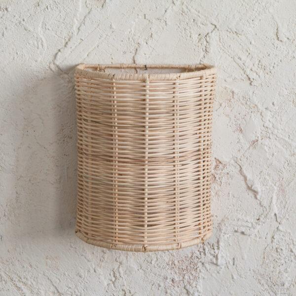 Aplique Umma - ratan - estilo mediterraneo - boho - fibras naturales - Liderlamp (3)