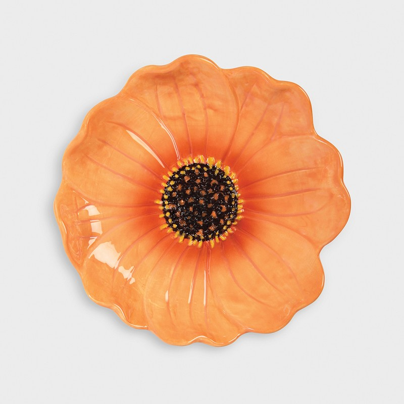 Bowl Dahlia - vajilla flores - gres - servir la mesa - mesas especiales - Liderlamp (1)