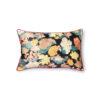 Cojin Doris Vintage - Flores saten - 25x40 cm - textil - dormitorio - Liderlamp (1)