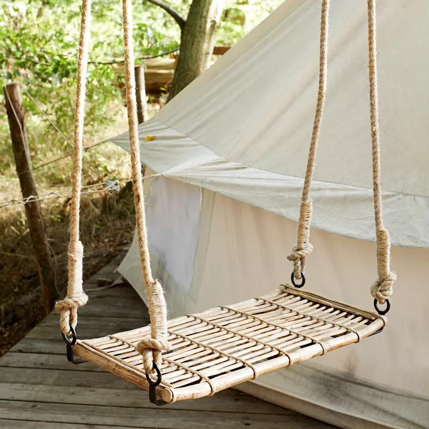 Columpio de Bambu - exterior - escaparatismo - porche - cuarto infantil - Liderlamp (3)