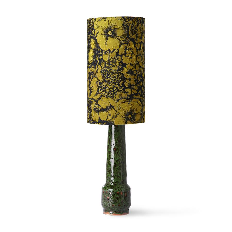 Pantalla Doris - Flores - sobremesa - lampara de mesa - estilo retro - Liderlamp (1)