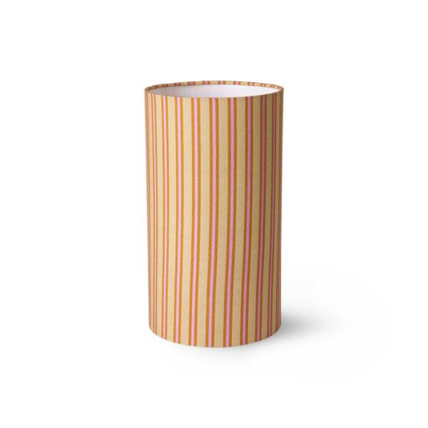 Pantalla Doris - Rayas - sobremesa - lampara de mesa - estilo retro - Liderlamp (1)