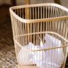 Papelera Bambu Marita - oficina en casa - despacho - estilo boho - Liderlamp (1)