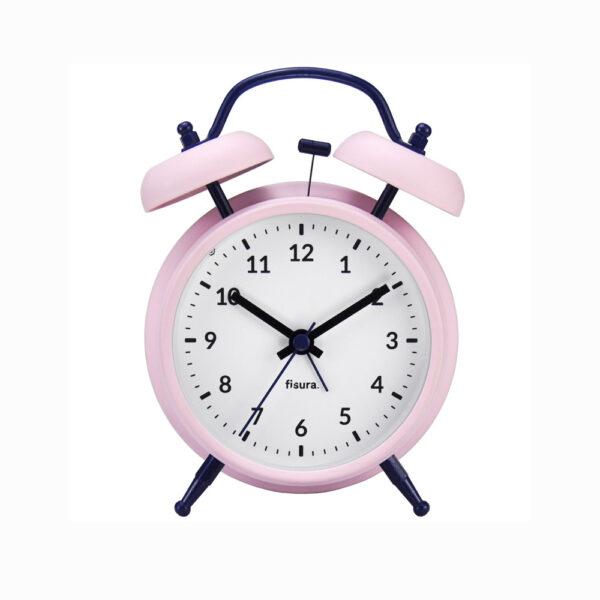 Reloj despertador Retro - Rosa - dormitorio - ninos y adultos - Liderlamp (1)
