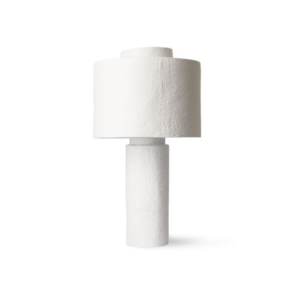 Sobremesa Gesso - acabado yeso - rustico - envejecido - lámpara salon - Liderlamp (1)