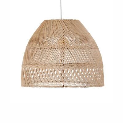 Colgante Ashta - bambu - estilo mediterraneo - fibras naturales - Liderlamp (1)