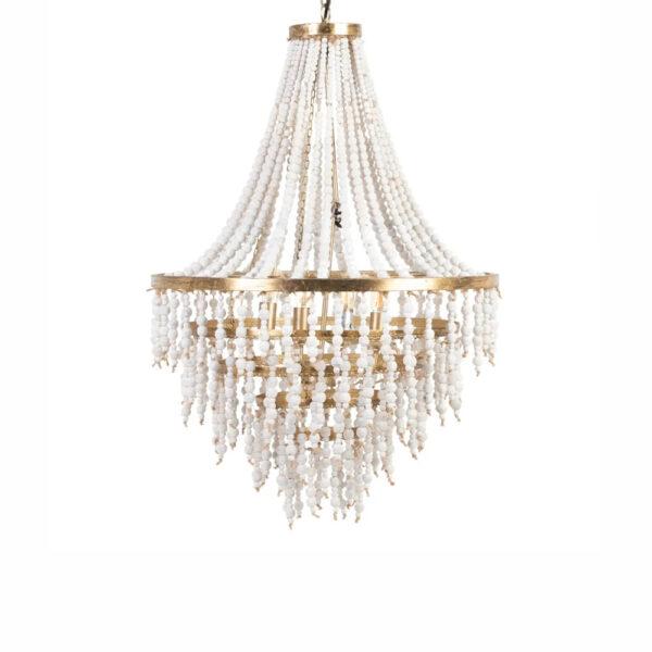 Colgante Chesham - cuentas de manera - laton - estilo clasico - Liderlamp (1)