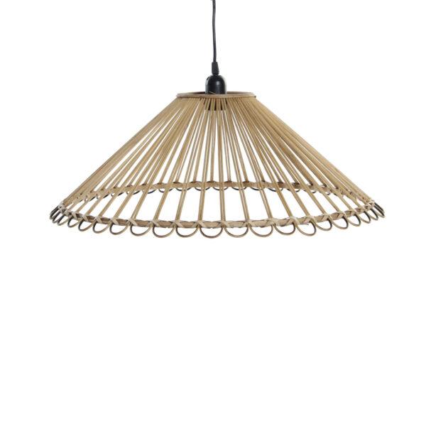 Colgante Ratan Yuca - lampara de mimbre - estilo mediterraneo - Liderlamp (1)