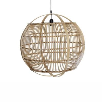 Colgante Tabanan - farol - lampara bambu - esfera - balines - Liderlamp (4)