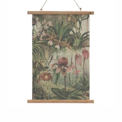 Pergamino Orquidea - lamina - decoracion pared - poster - botanica - Liderlamp (1)