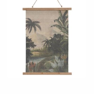 Pergamino Paisaje - lamina - decoración pared - poster - botanica - Liderlamp (1)